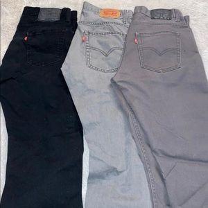 skinny grey 511 jeans